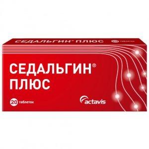 Седальгін - інструкція із застосування препарату