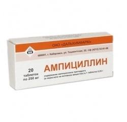 Ампіцилін: інструкція із застосування і показання