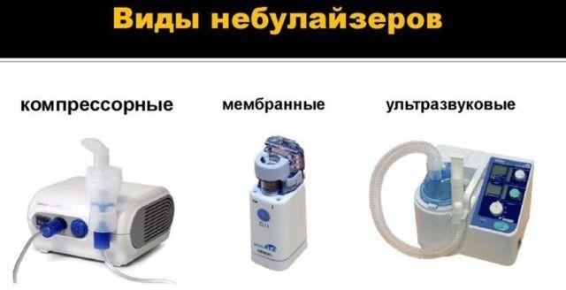 Інгалятор від нежиті та кашлю: види і правила застосування