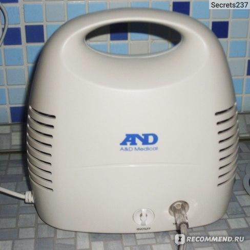Небулайзер AND CN-231: інструкція із застосування