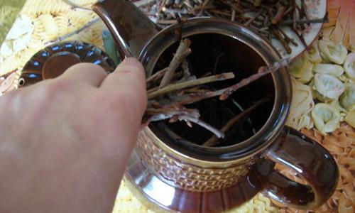 Застосування малини від кашлю