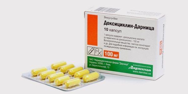 Антибіотики при флюсі зуба