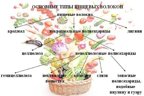 Баластні речовини в харчуванні людини: навіщо потрібні і де містяться?