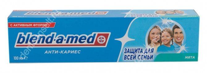 Blend-a-med з активним фтором