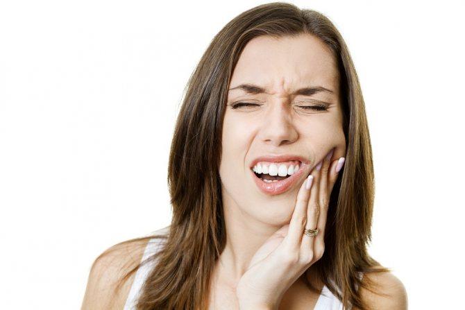 біль при носінні знімних зубних протезів