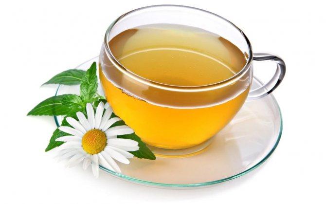 Чай і ромашка