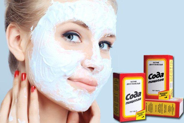 чистка обличчя за допомогою соди