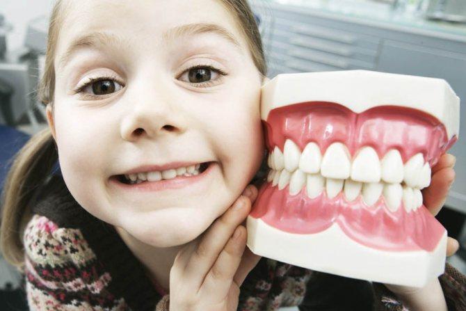 До скількох років ростуть зуби