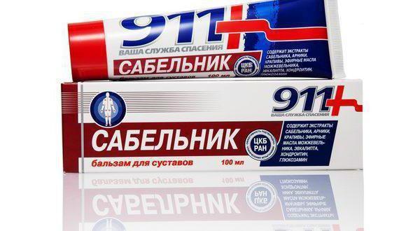 Мазь 911 для суглобів, гель-бальзам, крем: повний огляд, ефективність