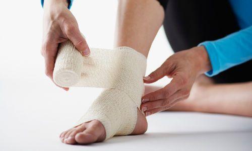 Тендиніт стопи, гомілковостопного суглоба, запалення зв'язок: причини і лікування