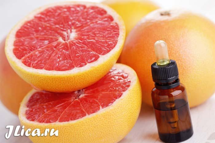 Ефірна олія грейпфрута для обличчя маски рецепти