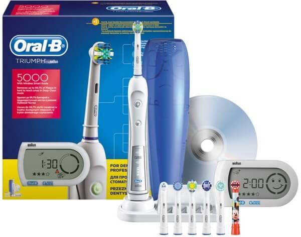 електрична зубна щітка Oral-B Triumph Professional Care 5000