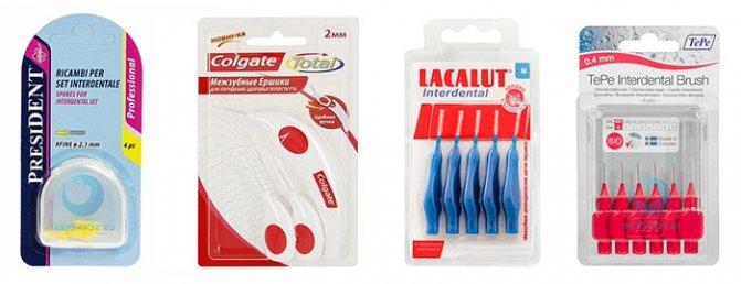 Йоржики для чищення зубів і брекетів