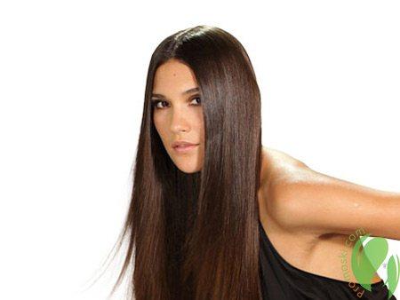 гладке волосся після лаврового масла