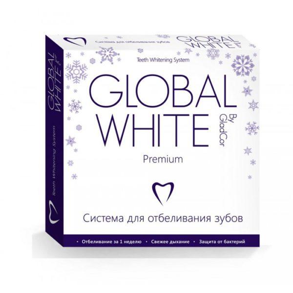 Global White «Whitening Gel» система для відбілювання зубів