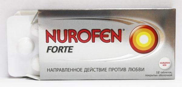 Хороші знеболюючі таблетки на основі ібупрофену Нурофен