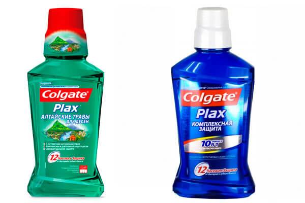 добре допомагають антибактеріальні ополіскувачі фірми Колгейт