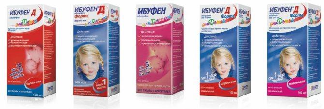 ібупрофен для дітей