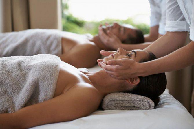 іспанська моделюючий масаж обличчя