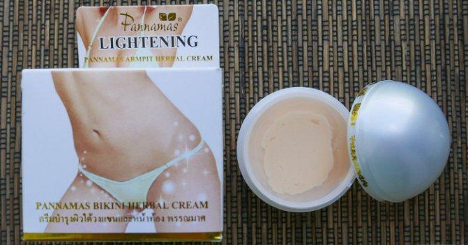 Як відбілити шкіру в інтимних місцях, ніж освітлити зону бікіні в домашніх умовах