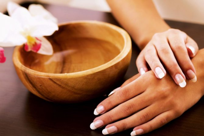 Як правильно робити ванночки для рук
