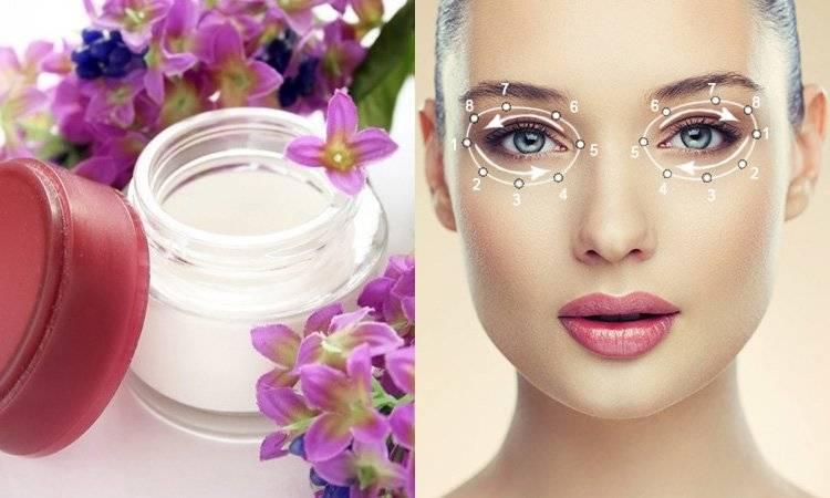 Як правильно наносити крем на область навколо очей