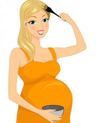 яку фарбу для волосся можна вагітним