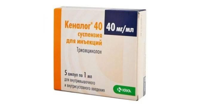 Кеналог препарат для уколів в очі