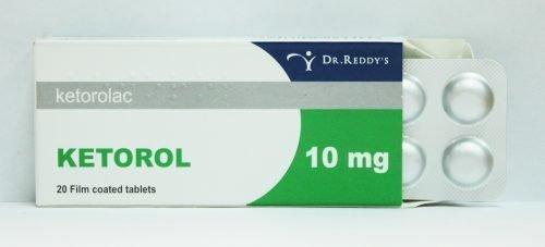 Кеторол в таблетках від болю