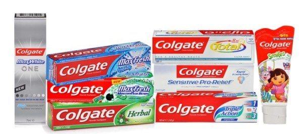 Колгейт відбілююча зубна паста склад термін придатності
