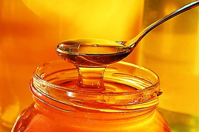 Консистенція для видалення зморшок з меду і яйця