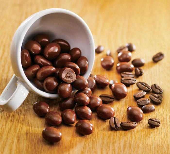 Кружка з кавовими зернами