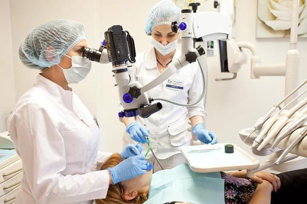 Лікування каналів зуба під мікроскопом ціна