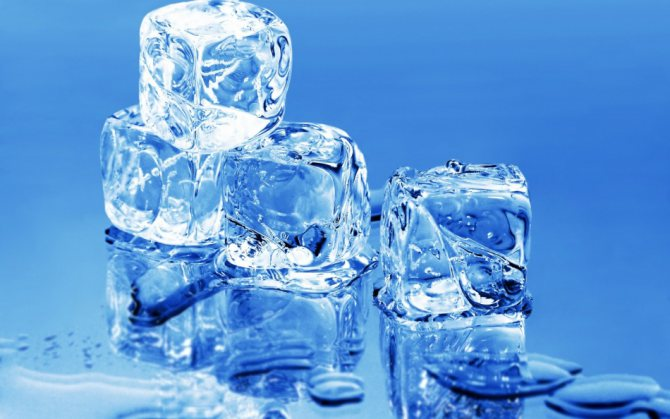 Лід з евкаліптом для протирання шкіри