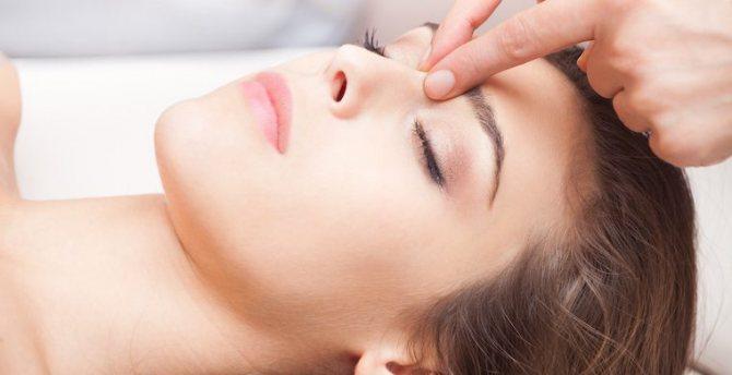 Лімфодренажний масаж обличчя омолоджуючий
