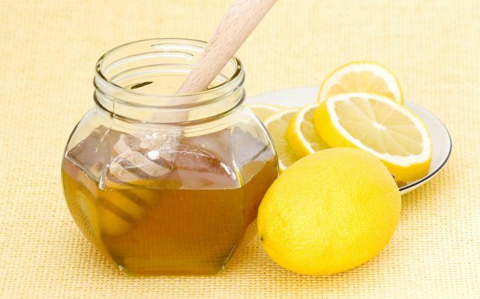 лимон і мед