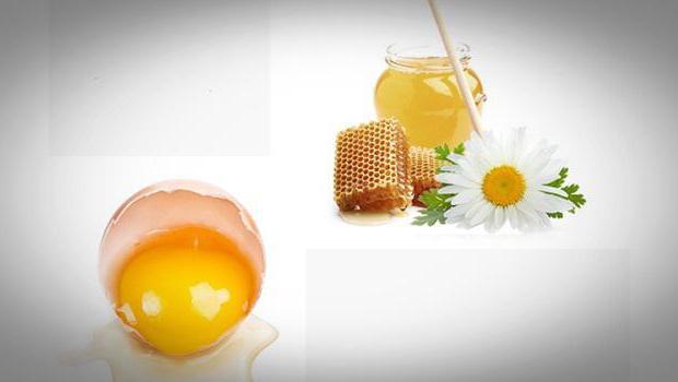 маска для обличчя мед яйце оливкова олія