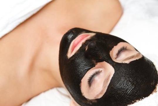 маска для обличчя вугілля желатин