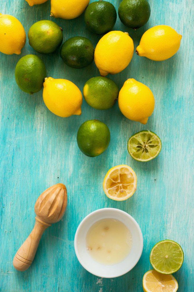 Маска з лимона