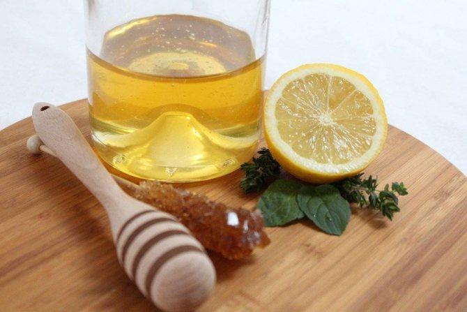 Маска з меду і лимона для обличчя