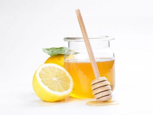 Маска лимон мед