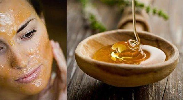 Маска від чорних крапок - лимон з медом