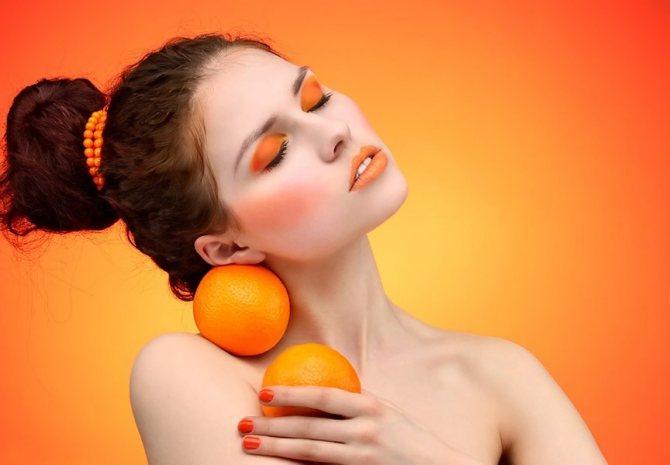 маски для обличчя з апельсина