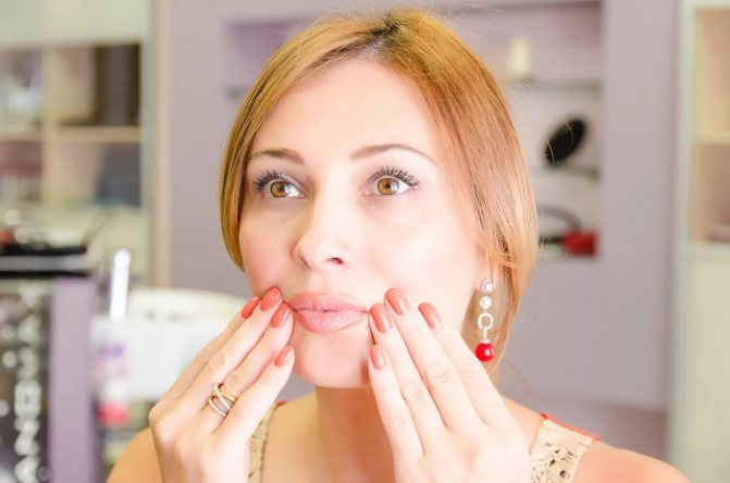 Маски для носо-губної зони