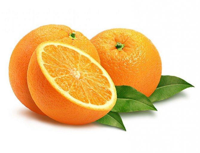 маски з апельсином для особи
