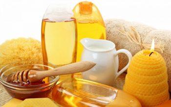 мед для масажу
