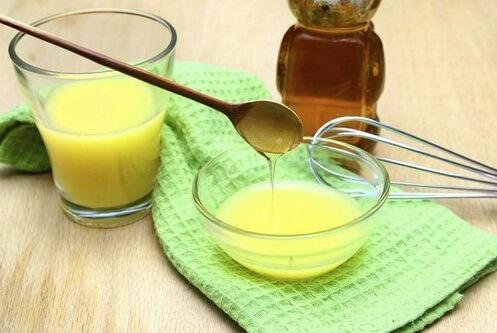 мед і апельсин для відбілювання