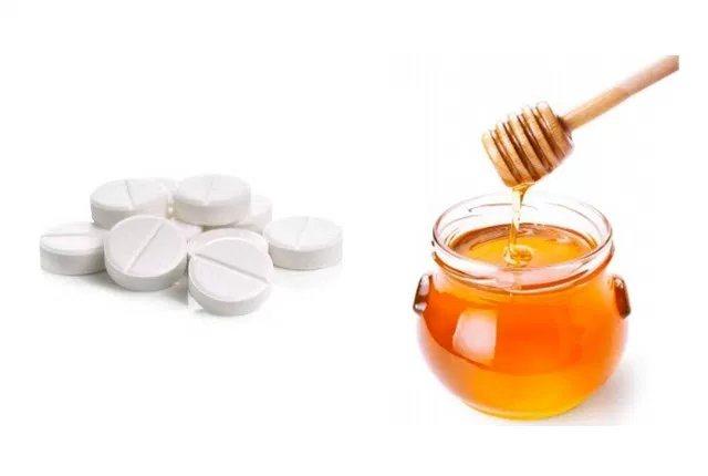 мед і аспірин