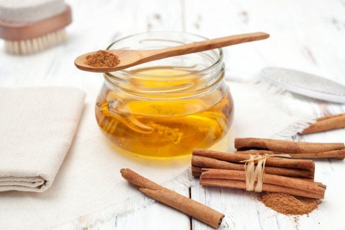мед і кориця