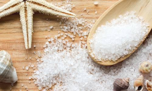 Морська сіль для лікування чорних крапок